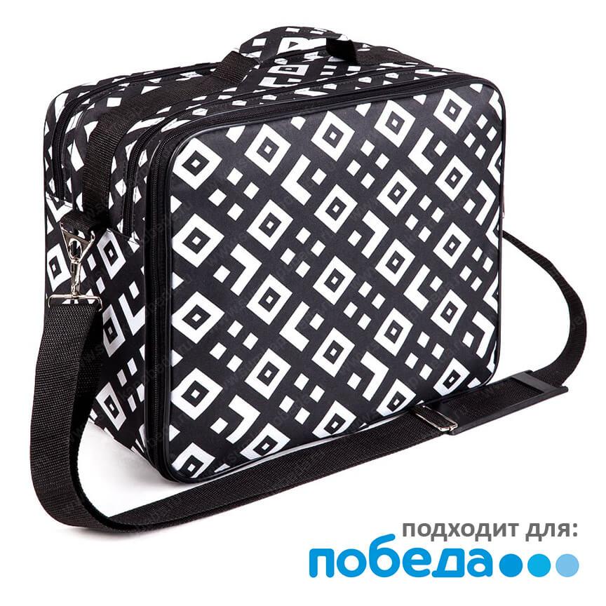 """b1818c89 Купить сумка для полета победой с принтом """"квадрат"""", арт. сп13 в ..."""