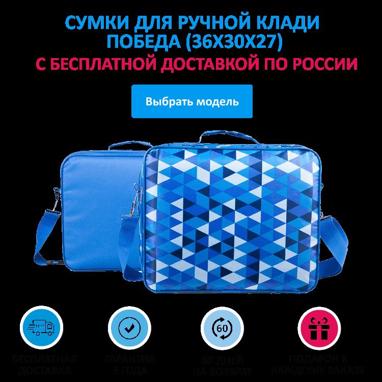 a9ef8498cf57 Сумки для ручной клади Победа (36x30x27) купить в Москве в интернет ...